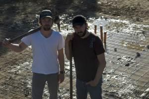 """Joel et Nash Edgerton sur le tournage de """"The Square"""""""
