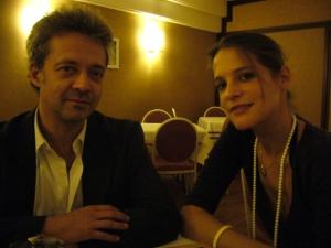 Emmanuel Salinger et Hélène Fillières