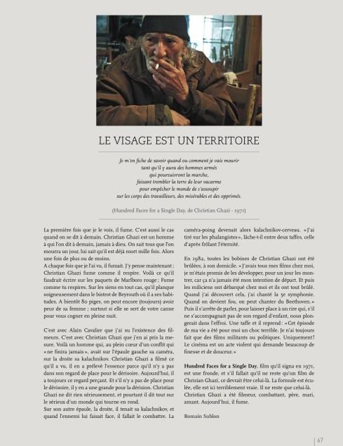 Article paru dans CUT n°3, saison 2013/2014